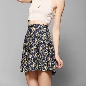 Kimchi Blue Sunflower Skirt